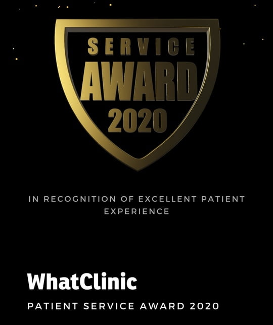 Austin Brewer Facial Aesthetics Clinic Awarded What Clinic Customer Service Award for Excellence