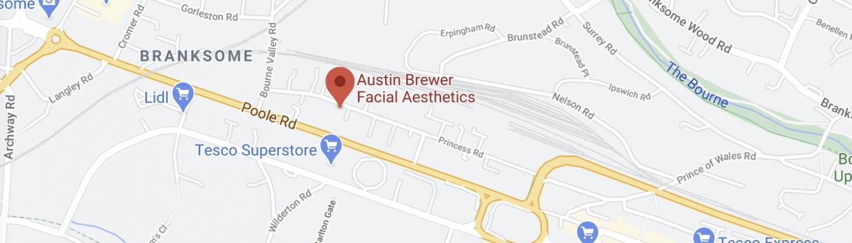 Austin Brewer Facial Aesthetics Clinic Location